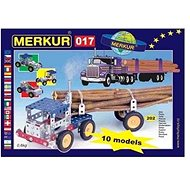 Stavebnica Merkur kamión - Stavebnice