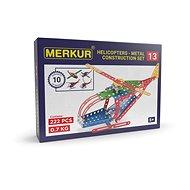 Stavebnica Merkur vrtuľník alebo lietadlo - Stavebnice