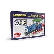 Merkur železničné modely 211 dielov - Stavebnica