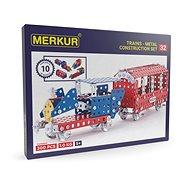 Merkúr železničné modely 300 dielov - Stavebnica