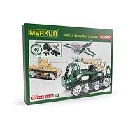 Stavebnica Merkur army set - Stavebnice