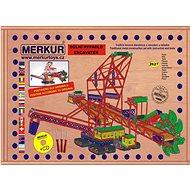 Merkur Maxi rýpadlo - Stavebnica