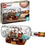 LEGO Ideas 92177 Loď vo fľaši - LEGO stavebnica
