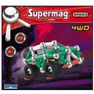 SUPERMAG – 4WD - Magnetická stavebnica