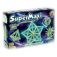 SUPERMAG – SuperMax Fluo Gloe - Magnetická stavebnica