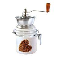 Toro Mlynček na kávu, porcelán, nerez, motív Srdce - Mlynček na kávu