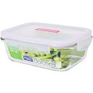 Lock&Lock Dóza na potraviny Lock, sklo/plast, obdĺžnik, 1 l