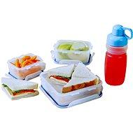 """Lock&Lock Súprava dóz + fľaša – """"Sandwich box"""" 4 ks"""