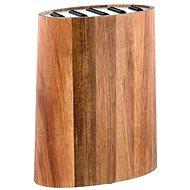 Toro Blok na nože, agátové drevo+nehrdzavejúca oceľ - Stojan na nože