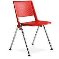 LD Seating GO! červená - Konferenčná stolička