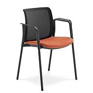 LD Seating Swing čierno/oranžová - Konferenčná stolička