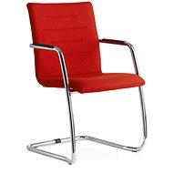 LD Seating Oslo červená - Konferenčná stolička