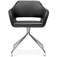 LD Seating Polo+ čierna - Konferenčná stolička