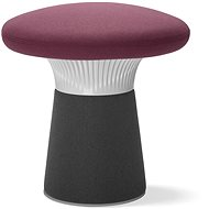 LD Seating Funghi sivo/fialový - Taburet