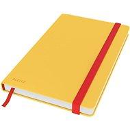 Leitz Cosy A5, linajkový, žltý - Poznámkový blok