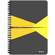 LEITZ Office A5 90 listov – sivo/žltý - Poznámkový blok