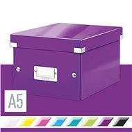 LEITZ Click-N-Store veľkosť S (A5) - purpurová - Archivačná škatuľa