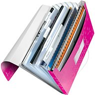 LEITZ Wow - kovová ružová - Aktovka na spisy
