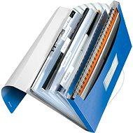 LEITZ Wow - kovová modrá - Aktovka na spisy