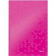Leitz WOW A4, linkovaný ružový - Poznámkový blok