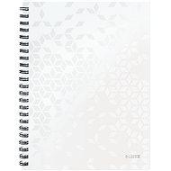 Leitz WOW A4, linkovaný, biely - Poznámkový blok