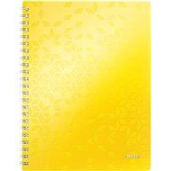 Leitz WOW A4, linkovaný, žltý - Poznámkový blok
