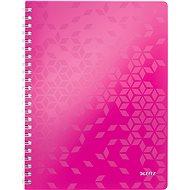 Leitz WOW A4, linkovaný, ružový - Poznámkový blok