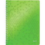 Leitz WOW A4, linkovaný, zelený - Poznámkový blok