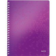 Leitz WOW A4, linkovaný, purpurový - Poznámkový blok