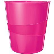 Leitz WOW ružový - Odpadkový kôš