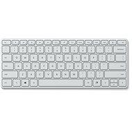 Microsoft Designer Compact Keyboard CZ/SK, Glacier - Klávesnica