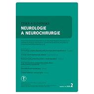 Česká a slovenská neurologie a neurochirurgie - Elektronický časopis