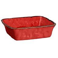 Mäser Zapekacia miska hranatá 23,5 × 23,5 × 6,5 cm, červená BEL TEMPO - Misa na zapekanie