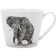 Maxwell Williams Hrnček Marini Ferlazzo 450 ml africký slon - Hrnček