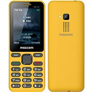 Maxcom Classic MM139 žltý - Mobilný telefón