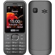 Maxcom MM142 sivý - Mobilný telefón