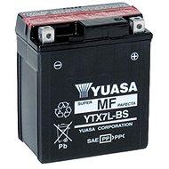 Motobatéria YUASA YTX7L-BS, 12 V, 6 Ah - Motobatéria