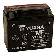 Motobatéria YUASA YTX12-BS, 12 V, 10 Ah - Motobatéria
