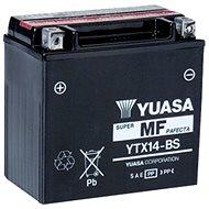Motobatéria YUASA YTX14-BS, 12 V, 12 Ah - Motobatéria