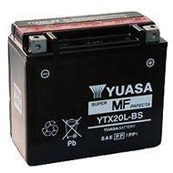 Motobatéria YUASA YTX20L-BS, 12 V, 18 Ah - Motobatéria