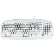 Logitech Value Keyboard CZ, biela - Klávesnica