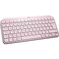 Logitech MX Keys Mini Minimalist Wireless Illuminated Keyboard, Rose - US INTL