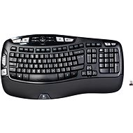 Logitech Wireless Keyboard K350 UK - Klávesnica