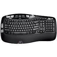Logitech Wireless Keyboard K350 DE - Klávesnica