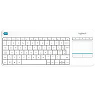 Logitech Wireless Touch KBD K400 Plus White DE - Klávesnica