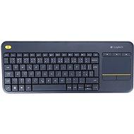 Logitech Wireless Touch Keyboard K400 Plus CZ - Klávesnica