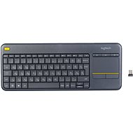 Logitech Wireless Touch Keyboard K400 Plus HU - Klávesnica