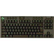 Logitech G915 LIGHTSPEED TKL Wireless RGB GL Tactile, carbon – CZ/SK - Herná klávesnica