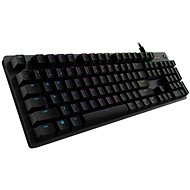 Logitech G512 Carbon Lightsync, GX Brown – CZ/SK - Herná klávesnica