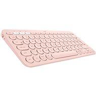 Logitech Bluetooth Multi-Device Keyboard K380, ružová - Klávesnica